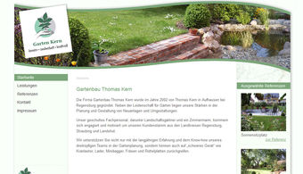 Referenzen - Gartenbau regensburg ...
